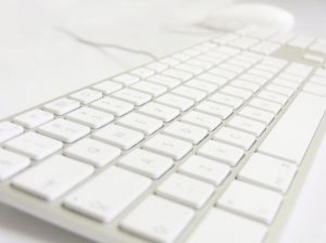 keyboard-white